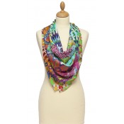 Susannagh Grogan 'Fiesta' Silk Scarf - SOLD OUT