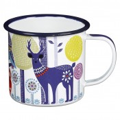 Folklore Enamel Mug - Day - SOLD OUT