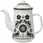Folklore Tea/Coffee Pot - Black & White - SOLD OUT