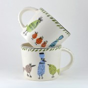 Hannah Turner Ceramics 'Birdlife' Mug - OUT OF STOCK