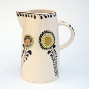 Hannah Turner Ceramics 'Hedgerow' Tall Jug
