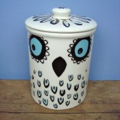 Hannah Turner Ceramics 'Owl' Storage Jar