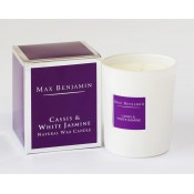 Max Benjamin Cassis & White Jasmine Candle