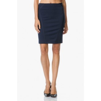 No Mans Land Interlock Jersey Skirt - LAST ONE