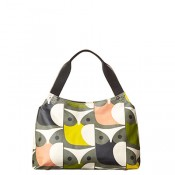Orla Kiely Classic Zip Shoulder Bag Big Owl