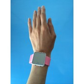 Push Watches: Irish designed Push Rainbow - Pink