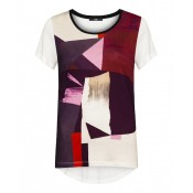Stills Atelier Geometric Printed T Shirt - LAST ONE