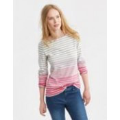Joules Pink Ombre Harbour Jersey Top