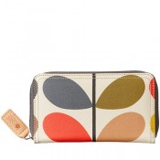 Orla Kiey Classic Multi Stem Big Zip Wallet - SOLD OUT