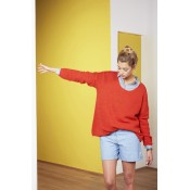 Harris Wilson Orange Pullover - SOLD OUT