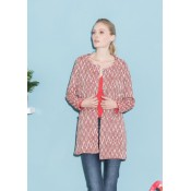 La Fee Maraboutee Jacket in Ethnic Rouge