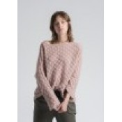 La Fee Maraboutee - Plain pullover in fancy knit - SOLD OUT