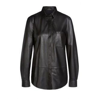 SET Leather Shirt - LAST ONE